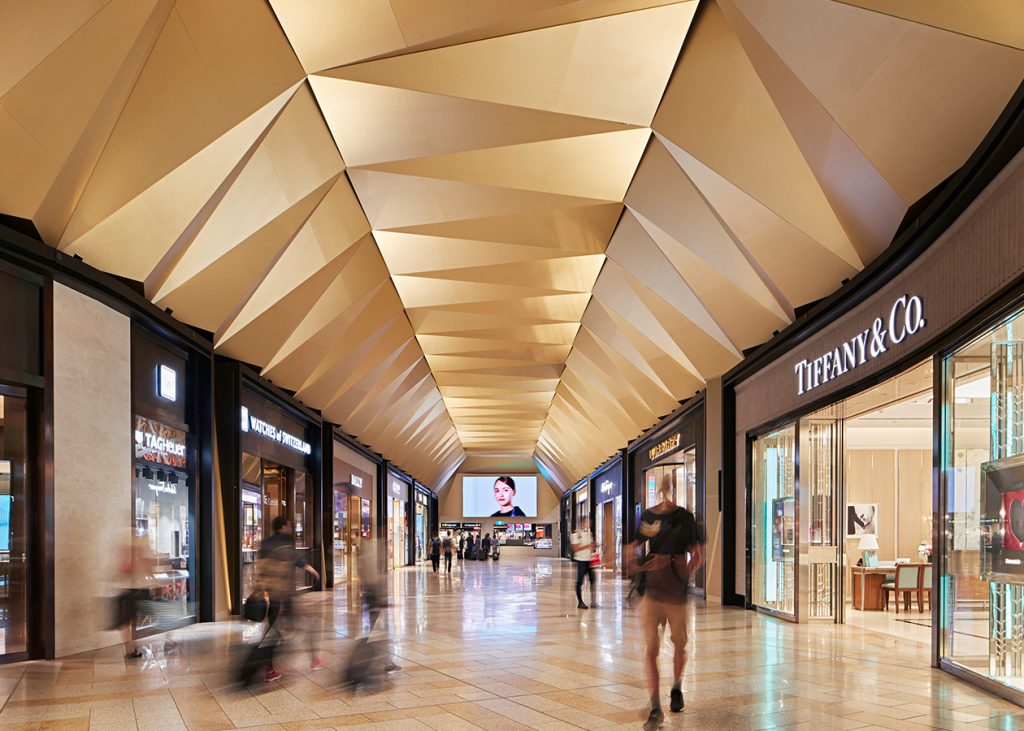 Melbourne Airport T2 Luxury Retail