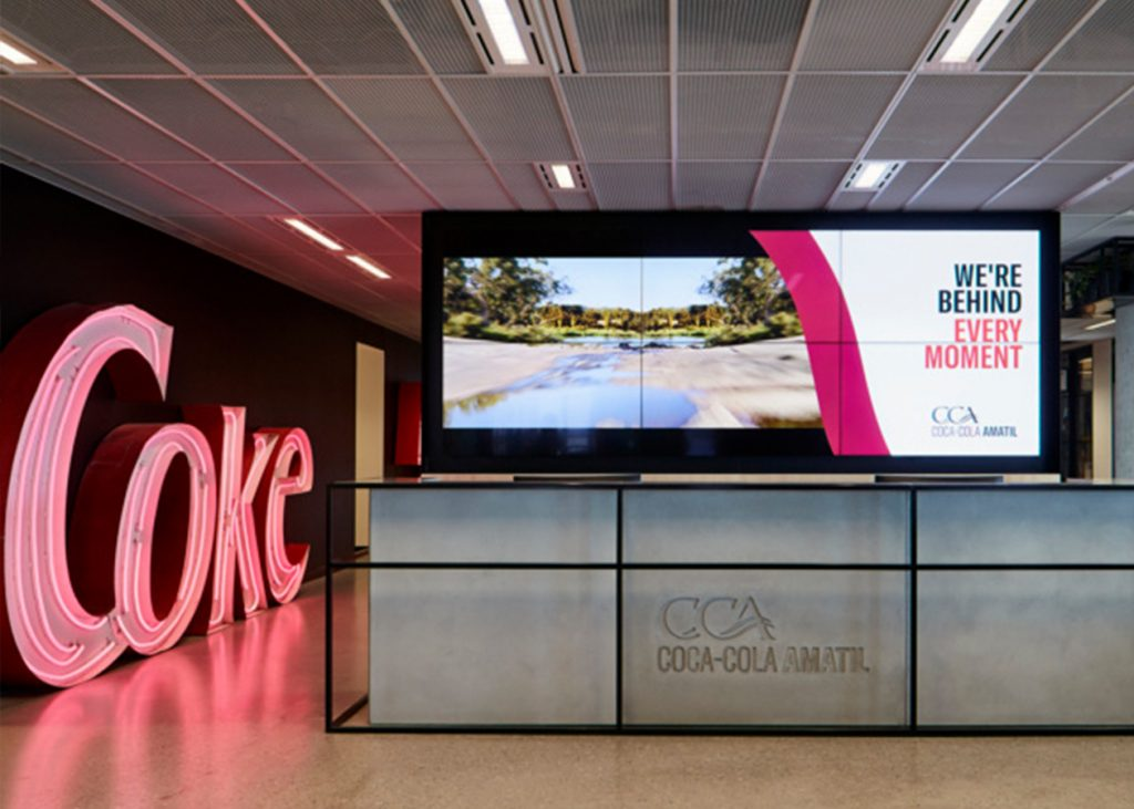 Coca Cola Amatil Office Fitout 3