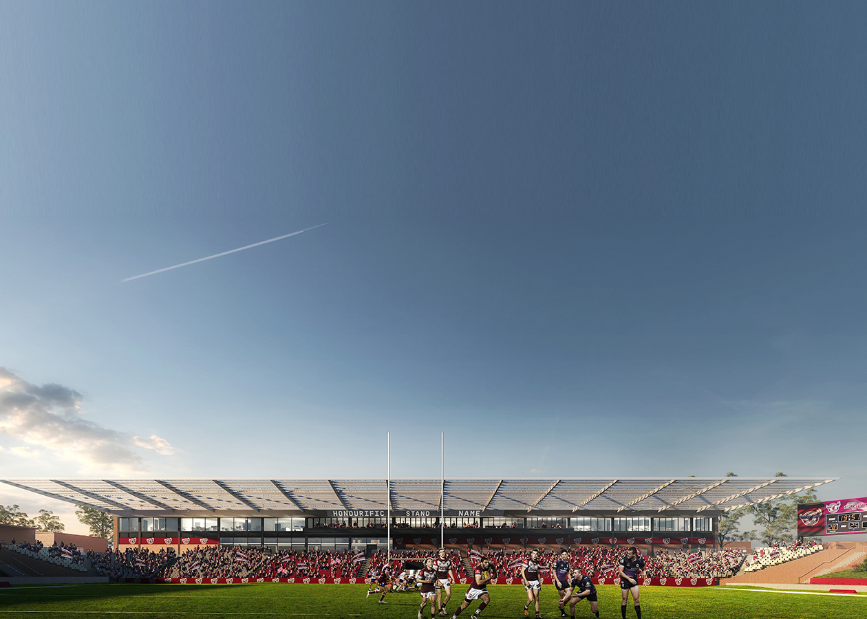 Brookvale Oval Centre of Excellence and Grandstand 1