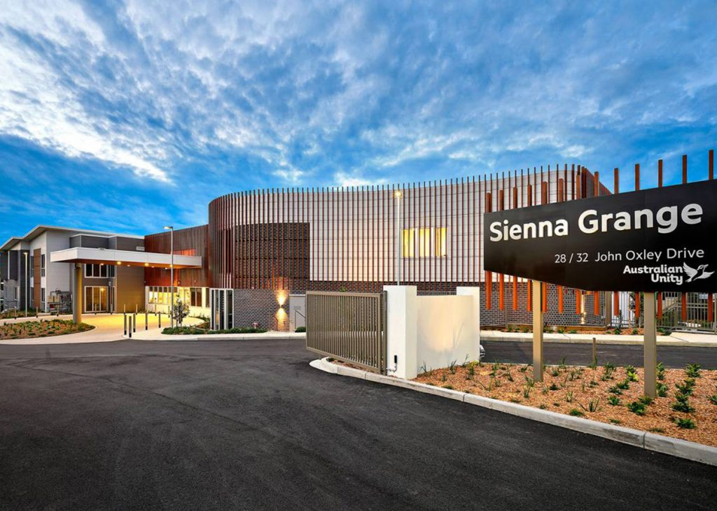 Sienna Grange Residential Aged Care Facility Project 1
